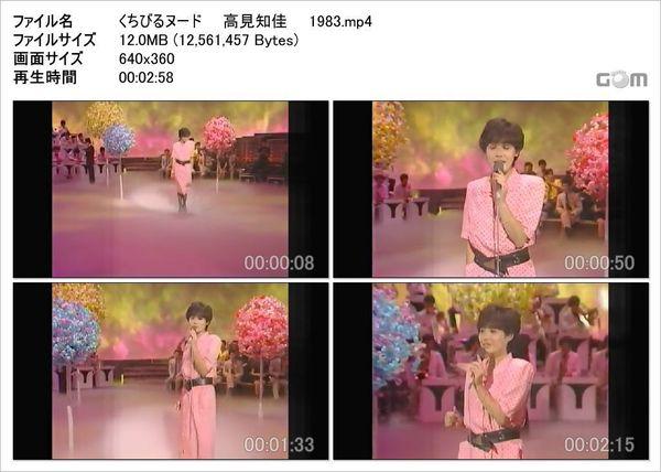 くちびるヌード  高見知佳  1983_Snapshot.jpg